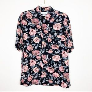 Urban Outfitters Floral Button Down Short Sleeve